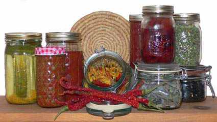 Assorted Preserved Foods