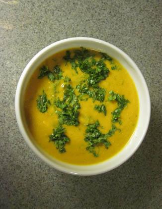 African Sweet Potato & Peanut Soup